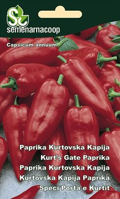 Paprika Kurtovska kapija seme