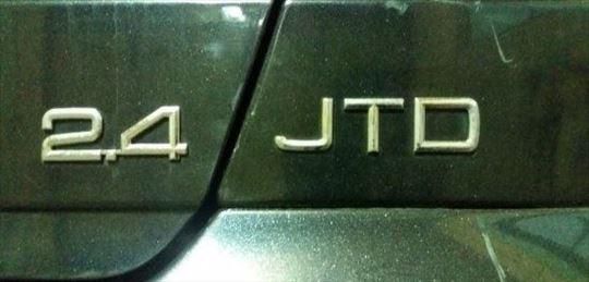 Znak na limariji 2.4JTD