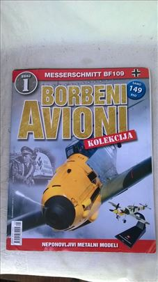 Časopis Amercom borbeni avioni br.1,2,3,4,5,6,9,12