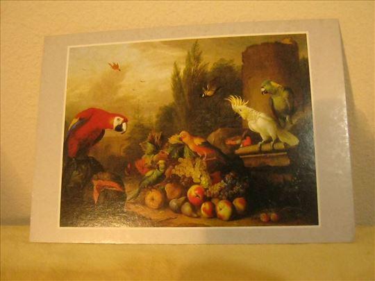 Bogdány Jakab: Csendélet madarakkal