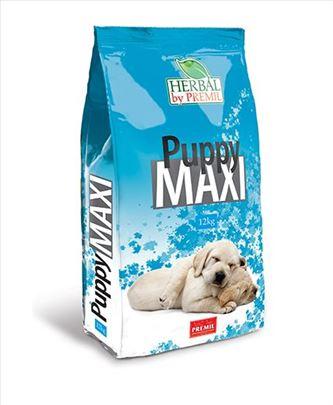 NOVO Hrana za pse Puppy Maxi - Herbal linija