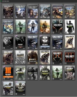 PC Igra Call of Duty Kolekcija od 2003-2014