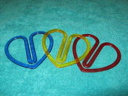 Spajalice u obliku srca