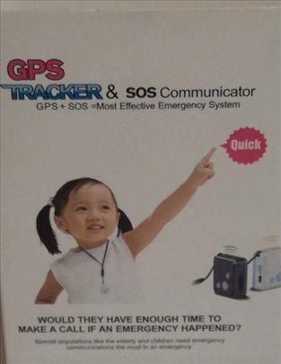 GPS tracker +/ sos za praćenje