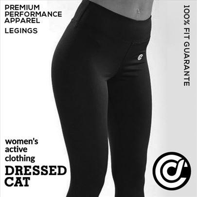 Kvalitetna fitness ženska odeća Dressed Cat