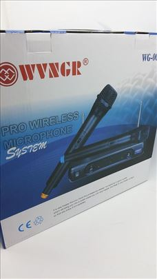 WG-005 Mikrofon bežični komplet 2 kom, novi