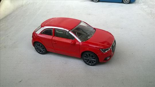 Rastar Audi A1 1:43,China, očuvan
