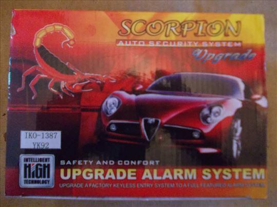 Autoalarm Scorpion-novo