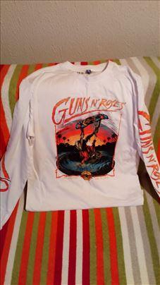 Bela majica Guns n roles