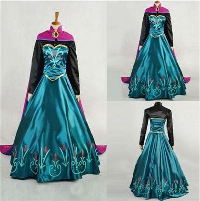 Frozen, kostim Ane za odrasle - novo