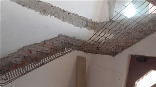 Razbijanje betona, košuljica, zidova, bušenje...