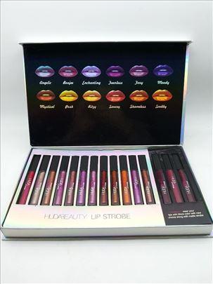 Huda beauty lipstik komplet 15 Novo huda beauty
