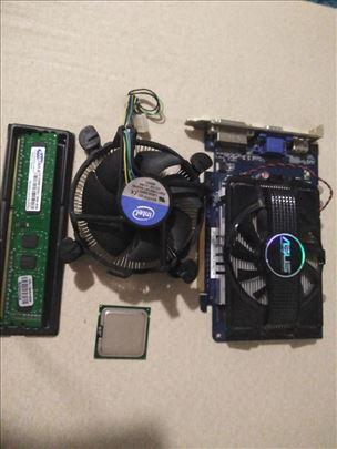 Prodajem Ram procesor hladnjak graficku zamena (Da