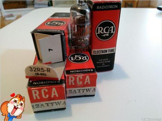 RCA 12AT7 WA