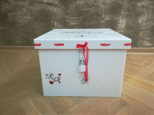 Unikatna kutija za koverte za venčanja