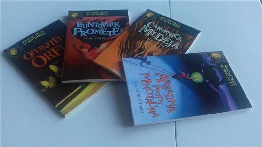 4 knjige, Medeja, ORFEJ,  Arijadna, PROMETEJ, NOVE