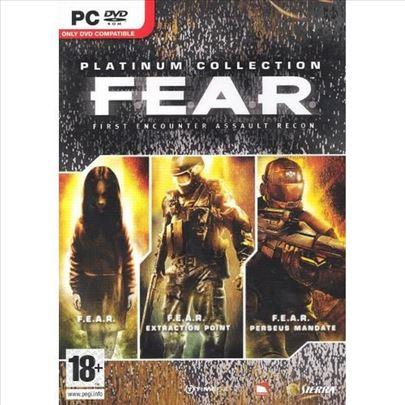 F.E.A.R Kolekcija (2005-2011) Za PC (čitaj opis)