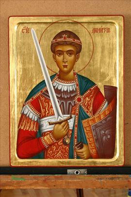 Ikona Sv. Dimitrije