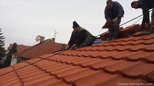 Izgradnja i renoviranje krovova, zidarski radovi