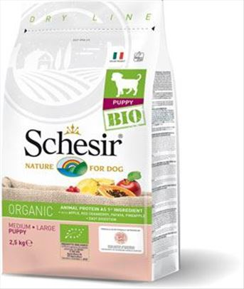 Novo oganska hrana za pse Schesir 2.5kg