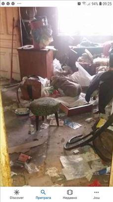 Čišćenje i održavanje stanova podruma itd