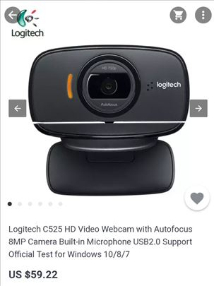 Logitech HD Video Webcam
