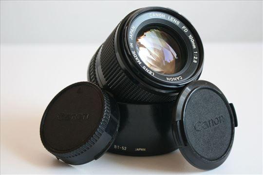 Canon FD 100mm f:2.8