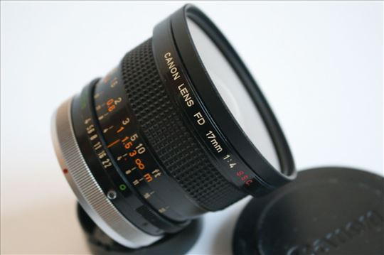 Canon FD 17mm f:4 S.S.C