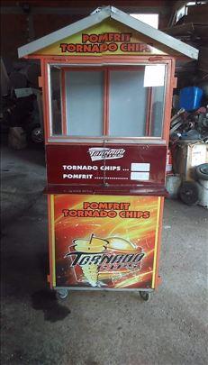 Tornado čips mašina