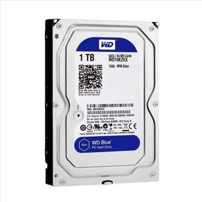Veliki izbor WD HDD od 1TB - 6TB