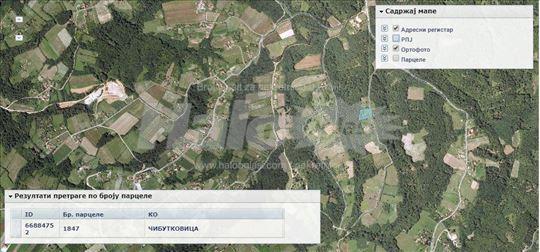 Zemlja Lazarevac,Čibutkovica 34 Ara