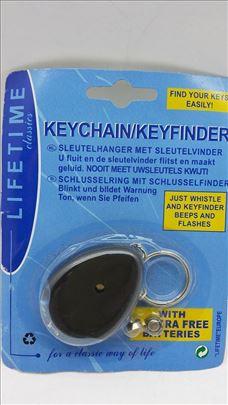 Privezak za ključeve sa lokatorom Akcija