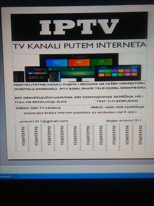 IP TV kanali putem interneta