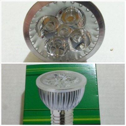 LED sijalica 5X1W E27, E14 3200K