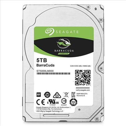 Velik izbor Seagate HDD od 500GB - 5TB
