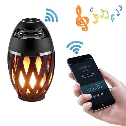 Bluetooth zvučnik plamen vatre