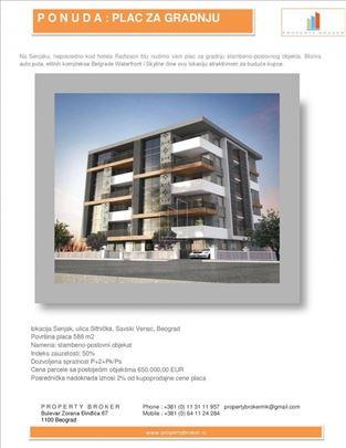 Senjak, plac za gradnju zgrade ID#1256