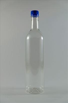 Nove plastične flaše, sa navojnim čepom, 1l