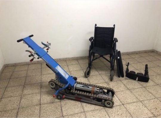 Gusenicar za invalidska kolica za stepenice