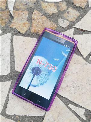 Nokia 730/735 Transparent Silikonska futrola