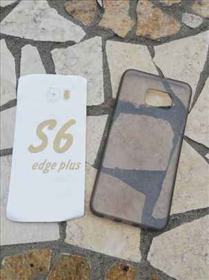 Samsung S6 Edge Plus Transparent Silikonska futrol