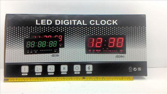 Led digitalni sat sa datumom i tem