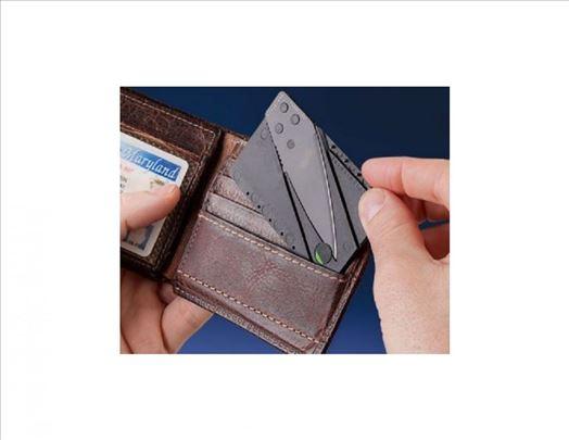 Nož kreditna kartica AKCIJA-Nož kartica