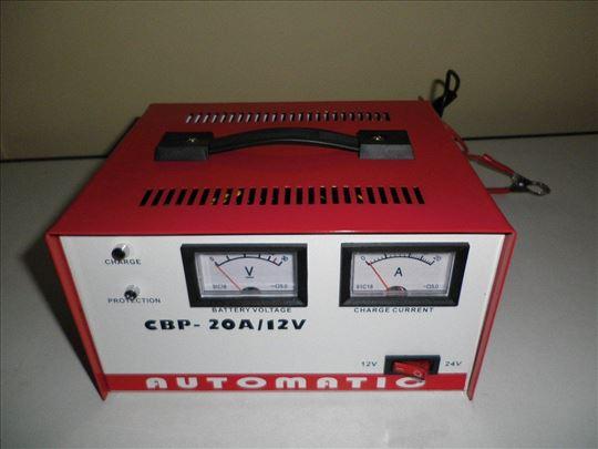 Punjac za akumulator 12-24V 20A
