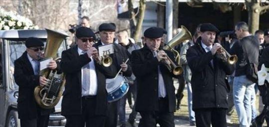 Pogrebni orkestar, pleh muzika, sahrane Srbija