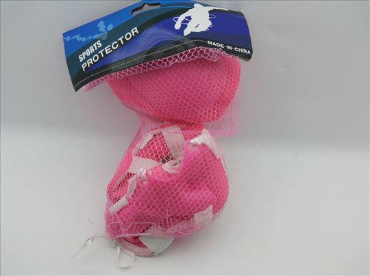 Štitnici za rolere roze-plavi-Štitnici za rolere