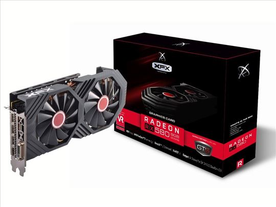 XFX RX 580 GTS Black Edition 8GB 256bit