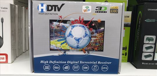 Digitalni DVB-T2 TV Resiver set top box