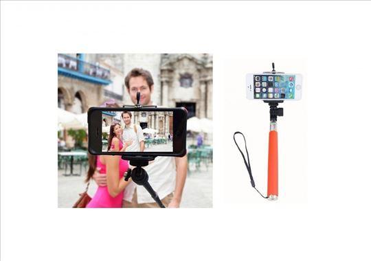 Stap za selfi slikanje akcija