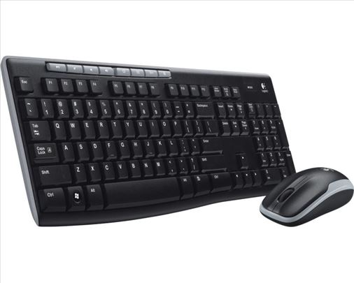 Logitech MK270 wireless desktop YU tastatura + miš